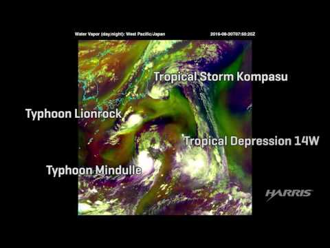 Harris Corporation - Advanced Himawari Imager Captures Images of Active Typhoons