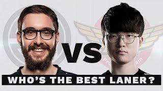 Bjergsen vs Faker: Who's the Better Laner?