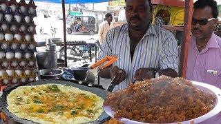 Bhao Ka Anda (Egg) Rice 30 rs Per Plate | Street Food Yavatmal Maharashtra India