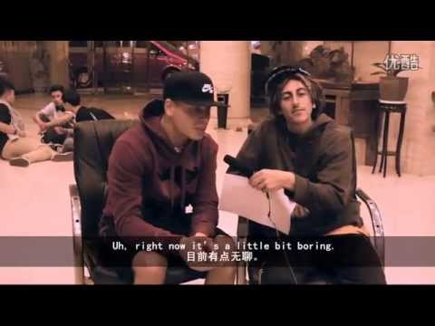 BBOY XSICO Hustle Kidz Zulu Kingz 2014 interview in China