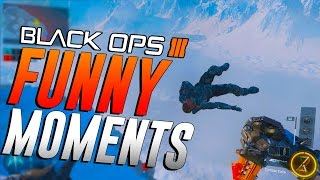 Black Ops 3 Funny Moments - Floating man, Cactus Touching and Terrible players!