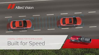 Built for Speed - Allied Vision cameras in ITS applications