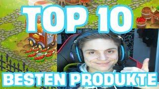 TOP 10 BESTEN PRODUKTE IN HAY DAY | SyromerB