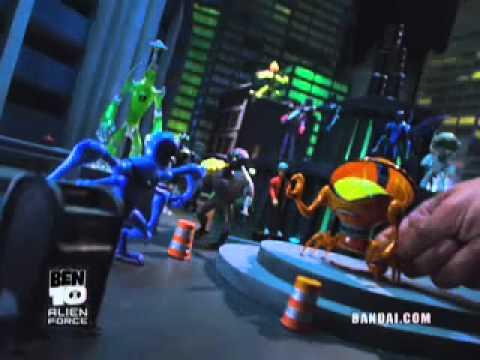 Ben 10 Alien Force Figures
