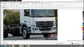 Como desenhar um caminhão no Corel Draw X7