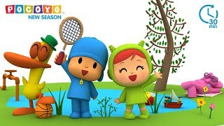 Pocoyo - Outdoors fun with Pocoyo | NEW SEASON! [30 minutes] thumbnail
