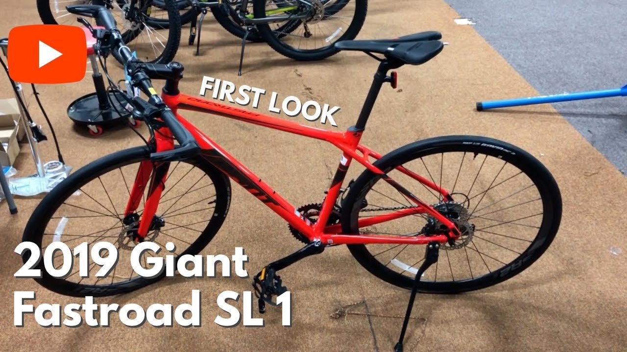 7e145166bcc FIRST LOOK! 2019 Giant Fastroad SL 1 - YouTube