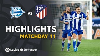 Highlights Deportivo Alavés vs Atlético de Madrid (1-1)