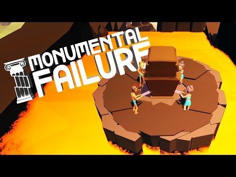 Lava Surfing! - Monumental Failure Gameplay - Monumental Failure Part 2