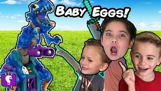 GIANT REX BONES Egg Adventure with the HobbyKids