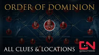 AC Odyssey - Order of Dominion - All Clues & Locations - For Love of Persia