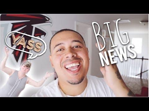 BIG NEWS!!!- #MIGHTYFAMILYVLOG