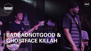 "BadBadNotGood & Ghostface Killah ""ODB Tribute"" Ray-Ban x Boiler Room 006 Live Performance"
