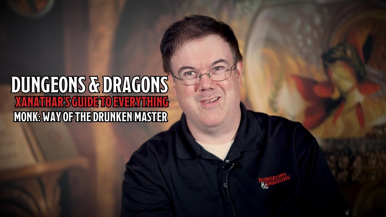 Introducing D&D's Monk: Way of the Drunken Master In Xanathar's Guide To  Everything