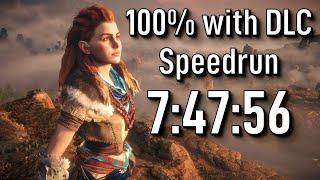 Horizon Zero Dawn Speedrun: 100% with DLC in 7:47:56 - World Record