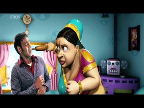Ajay Devgn goes missing - Toonpur Ka Super Hero
