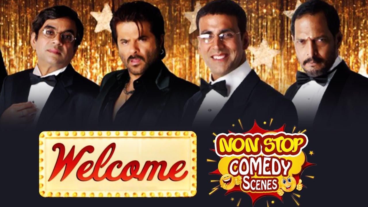 Best of Hindi Comedy Scenes | Superhit Movie Welcome || Akshay Kumar - Paresh Rawal -  Nana Patekar