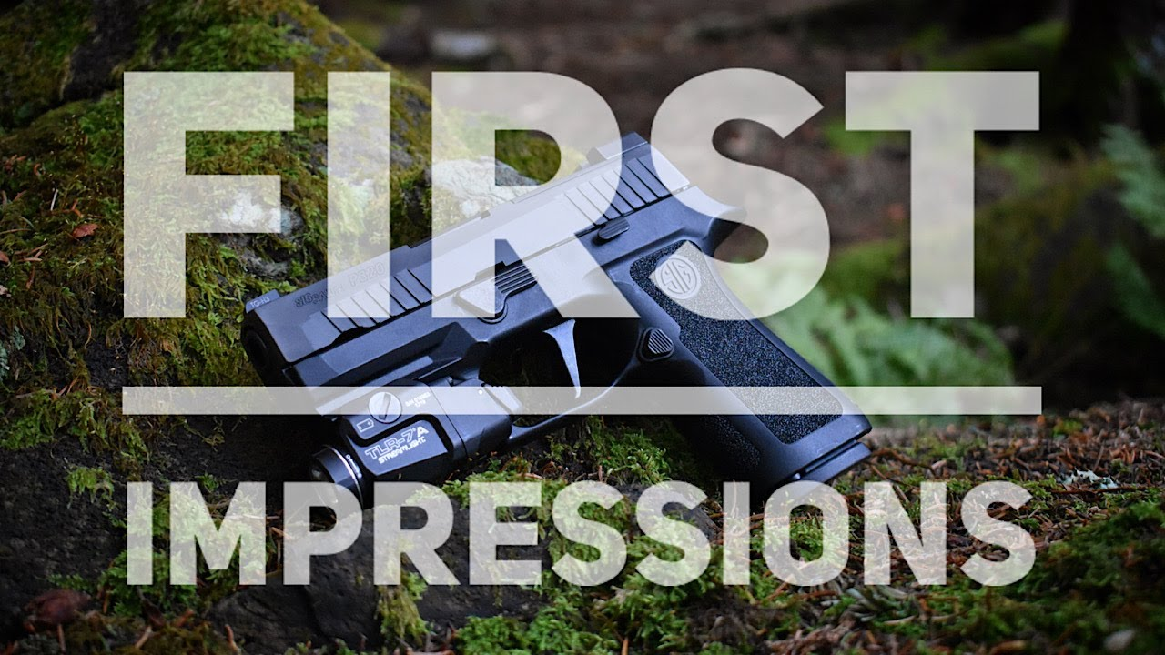 FIRST IMPRESSIONS The SIG 320X Compact