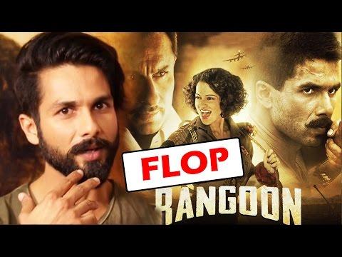 Shahid Kapoor FINALLY Reacts To Rangoon Failure At Box Office