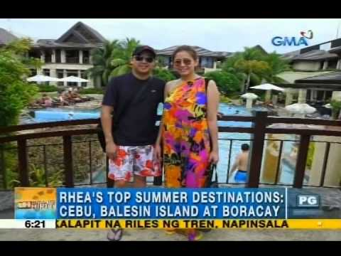 Rhea's top summer spots | Unang Hirit