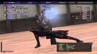 信長の野望オンライン (PS4なので音がありません) 中尊寺金色堂・過去 ...