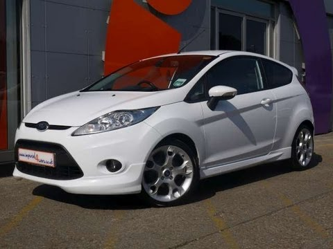 2010 ford fiesta zetec s 1 6 120bhp white hatchback 3dr for sale in hampshire youtube. Black Bedroom Furniture Sets. Home Design Ideas