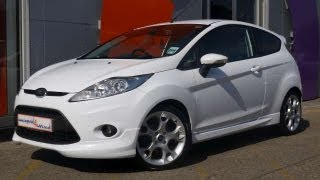 2010 Ford Fiesta Zetec S 1.6 120BHP White Hatchback 3dr For Sale In Hampshire