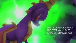 The Legend of Spyro Eternal Night Dragon Challenges