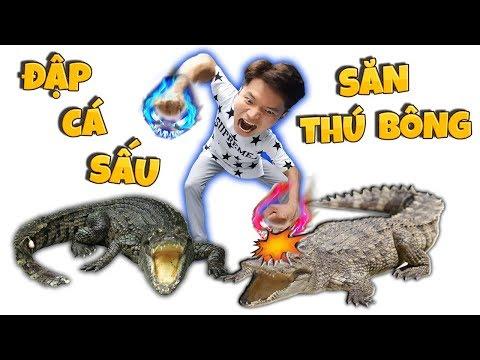Tony   Đập Cá Sấu Săn Thú Bông Trong Siêu Thị GIGAMALL