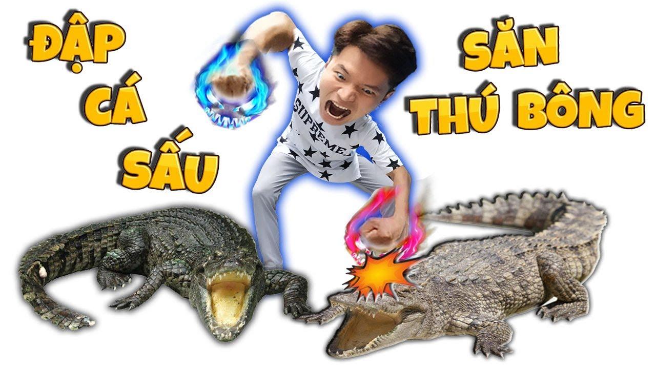 Tony | Đập Cá Sấu Săn Thú Bông Trong Siêu Thị GIGAMALL