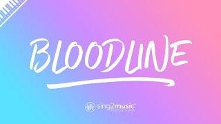 bloodline (Piano Karaoke Instrumental) Ariana Grande