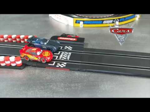 CARRERA GO Disney Pixar Cars 3 Slot Car Racing Set Lightning McQueen, Jackson Storm, Cruz Ramirez