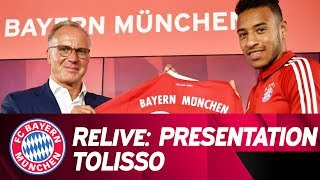 ReLive | Presentation of Corentin Tolisso | FC Bayern