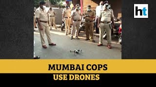 Lockdown over coronavirus: Mumbai police use drones to monitor situation