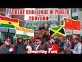 Download Video Accent Challenge In Public - Croydon