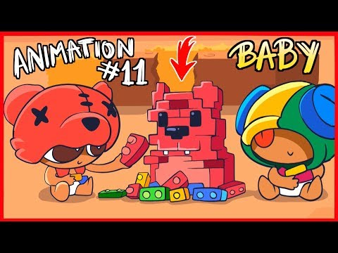 [#11] BRAWL STARS ANIMATION - BABY BRAWLERS