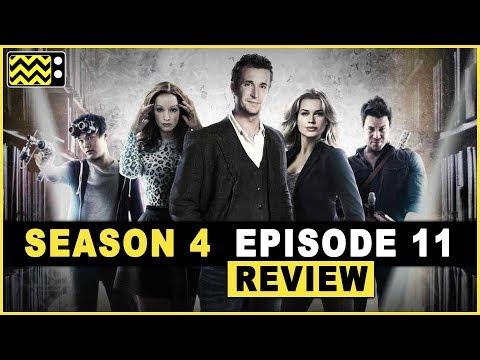 The Librarians Season 4 Episode 11  w Dean Devlin & Christian Kane  AfterBuzz TV