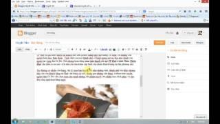 Hướng dẫn cách đăng bài lên Blogspot chuẩn SEO