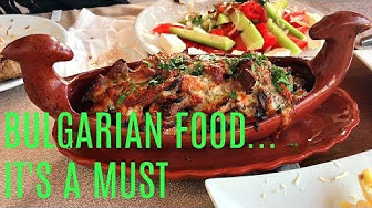 🇧🇬 TRADITIONAL BULGARIAN FOOD IN A TYPICAL BULGARIAN RESTAURANT - TRAVEL TO BULGARIA