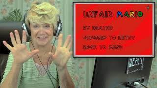 UNFAIR MARIO Elders React  Gaming