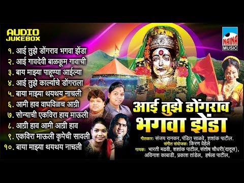 Aai Tuzhe Dongravar Bhagava Zenda | आई तुझे डोंगरावर भगवा झेंडा | Jukebox