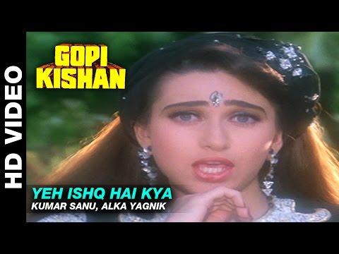 Yeh Ishq Hai Kya - Gopi Kishan | Kumar Sanu, Alka Yagnik | Sunil Shetty & Karishma Kapoor