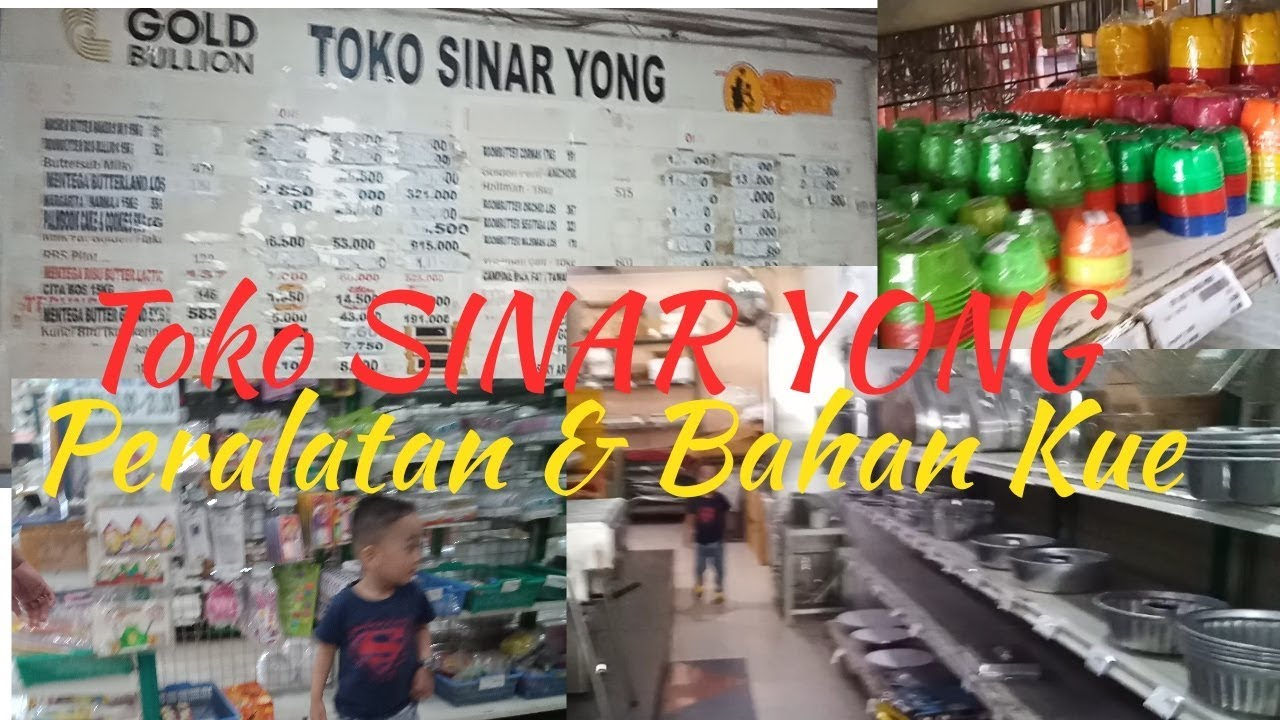 Toko Sinar Yong Pusat Penjualan Peralatan Bahan Kue Youtube