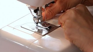 How to Use a Seam Guide | Sewing Machine