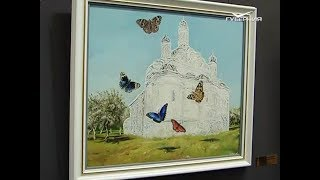 Самарским ветеранам представили выставку картин Никаса Сафронова
