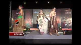 Sandesh News- Charkhe ka Rang, Khadi Utsav by NIFT Ahmedabad