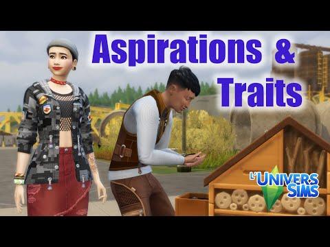 ASPIRATIONS ET TRAITS DE CARACTÈRE ! - Les Sims 4: Écologie