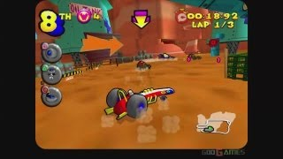 Wacky Races: Starring Dastardly & Muttley - Gameplay PS2 HD 720P (PCSX2)
