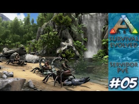 Ark Survival Evolved #5 -  Domando o novo Paraceratherium (ft. Pedro)