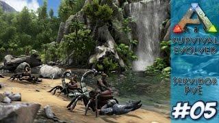 Ark Survival Evolved #5 -  Domando o novo Paraceratherium (ft. Pedro)